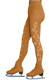 Chloe Noel stockings w/crystal swirls both legs